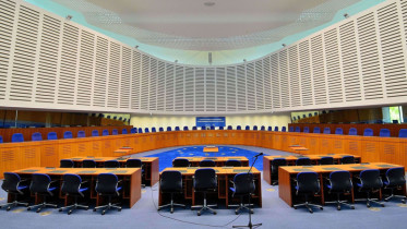 Kuva: Courtroom European Court of Human Rights, Wikipedia Commons